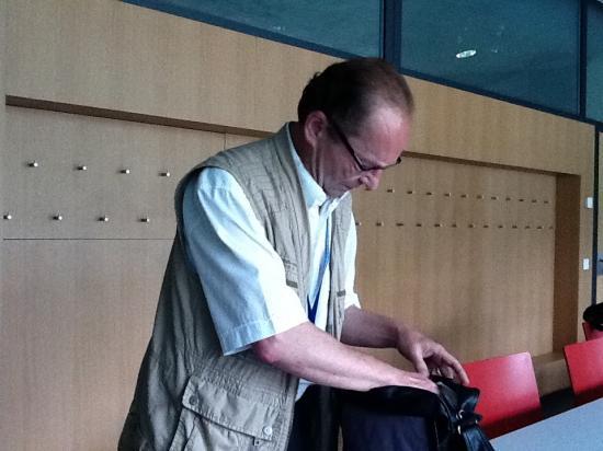 L'une des chevilles ouvrières des journées ATM, notre collègue Jean Brot