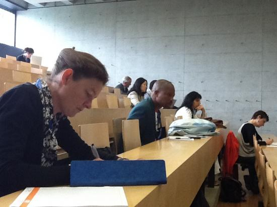 Ambiance studieuse